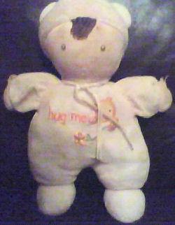 Carter's Brunette Pink Hug Me Doll