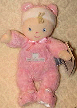 Carter's Just Stay Little Pink Doll Rattle