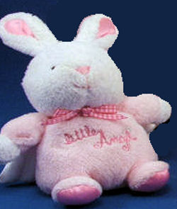 , FOUND – CARTER'S LITTLE ANGEL Pink Rabbit OR Others in Same Series BLUE DOG