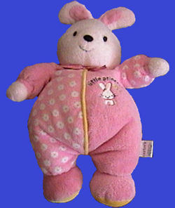 Carter's Little Princess Pink Bunny Rattle