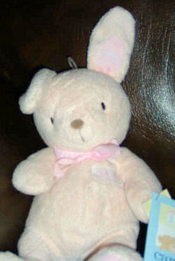 , FOUND – 2004 Carter's PINK RABBIT No. 4461