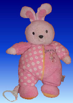 , FOUND – Carter's LITTLE PRINCESS Pink BUNNY Plays TWINKLE TWINKLE LITTLE STAR