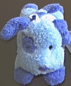 Carter's Just One Year Blue Plush Dog that Barks
