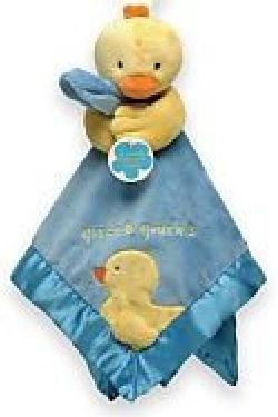 Carter's Quack Quack Duck Blue Blankie