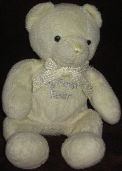 Carter's Small Yellow My First Bear