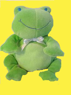 , FOUND – 2003 Carter's Starters GREEN FROG