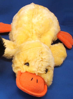 , Searching – Eden LARGE YELLOW LYING DOWN DUCK