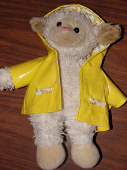 Target Chosun? White 15 inch Lamb with or without RAINCOAT