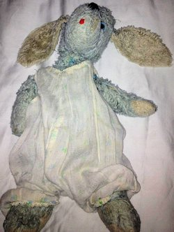 1982 Commonwealth Pastel Blue Nitey Nite Dog