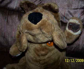 Wrinkles Dog Full Body Puppet