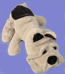 Cuddle Wit White & Brown Cuddle Puppy Bulldog