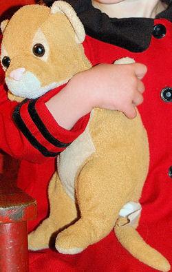 2005 Cuddle Zone Lion Cub with No Mane