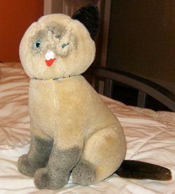 80's Dakin Siamese Cat