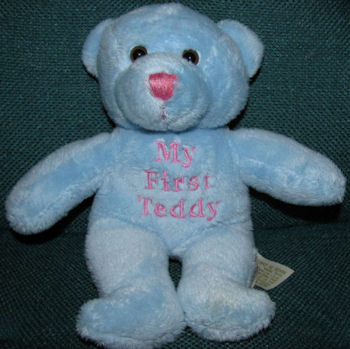 DanDee Blue Baby My First Teddy Bear