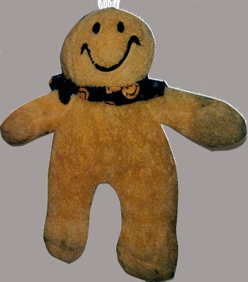 , FOUND – DanDee Yellow Smiley Face Doll White Tuft