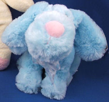 , FOUND – DanDee Collector's Choice LARGE PINK Head Up SEATED DOG with BIG NOSE