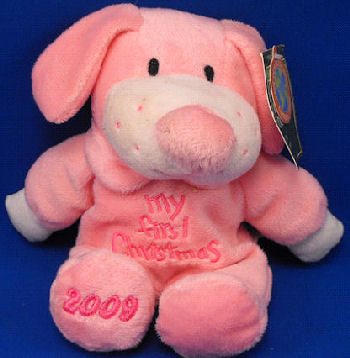 , Searching – DanDee COLLECTOR'S CHOICE MY FIRST CHRISTMAS 2009 PINK DOG