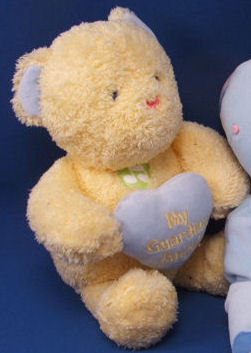 , FOUND – DanDee YELLOW MY GUARDIAN ANGEL BEAR – Jesus Loves Me