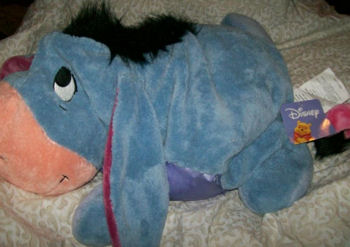 , Searching – XL Disney MUSHABLES Microbead EEYORE for a Dog