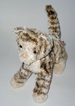 Douglas Plush Grey and White Kitty