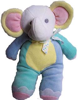 90's Eden Pastel Elephant
