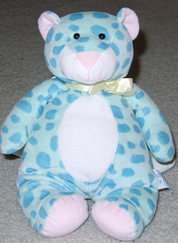 , Searching – 90's Eden GREEN BEAR with TEAL SPOTS