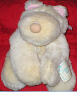 Eden Large Cream Cuddle Me Bear