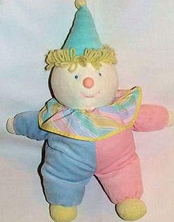 Eden Pastel Multi-Colored Clown