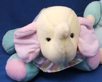 , FOUND – Eden WINDUP PASTEL ELEPHANT Plays It's a Small World