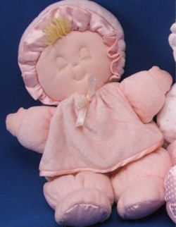 Blond Eden Sleeping Doll Wearing Pink WITHOUT the Logo