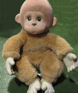 , DISCONTINUED &#8211; 1994 Ed Kaplan ZOO BORNS MONKEY <i>Top Priority</i>