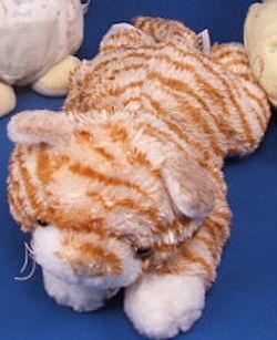 FAO Schwarz Orange & White Stripe Tabby Cat