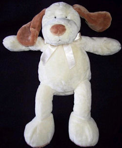 , Searching – First Impressions Large Cream Dog with Caramel Ears & Nose