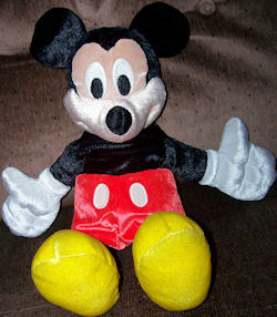 2001 Fisher Price Fun 'N Floppy Mickey