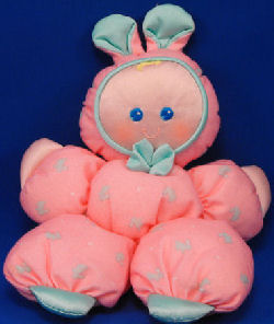 Fisher Price Pink Slumber Babies Rabbit