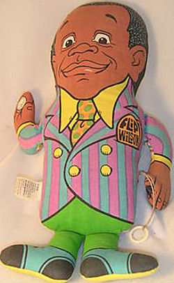 Flip Wilson Talking Doll Pillow