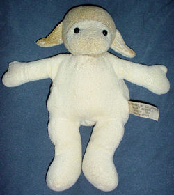 , FOUND – Flowers Inc. Balloons WHITE LAMB with YELLOW HEAD & EARS