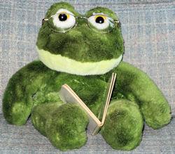 Full Body Green Frog Puppet