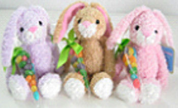 Target Small Pink Chenille Easter Rabbit