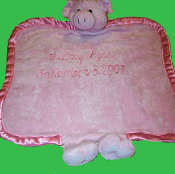 ganz heritage collection blankie, Searching – 2006 GANZ Heritage Collection PINK PIG BLANKIE