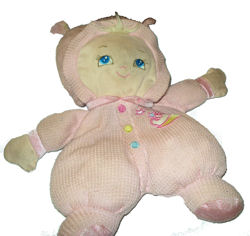 Goldberger First Bundle of Joy Pink Doll