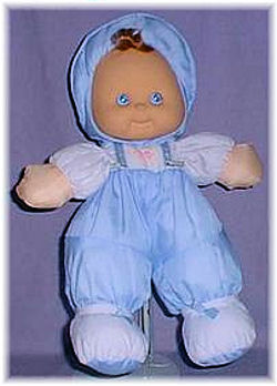 Greg Blue Puffalump Boy Doll
