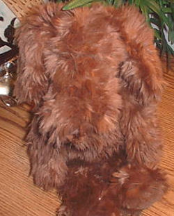 90's GUND Shaggy Brown Barkus Dog
