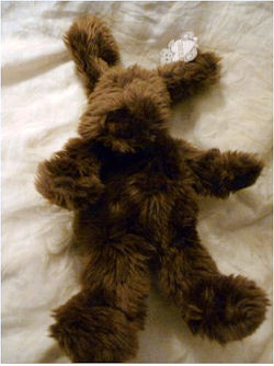Brown GUND Shaggy Barkus Dog