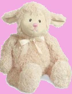 Baby GUND Beige Fluffles Lamb