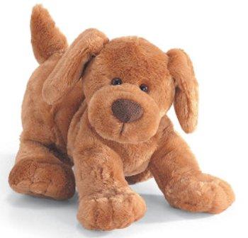 gund huffy dog, Searching – 2006 Light Brown GUND Huffy Dog in Play Pose