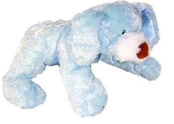 Baby GUND 12inch Blue My First Puppy with Satin Tummy
