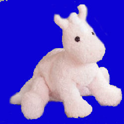 GUND Pink Horse with My First Pony embroidered on the Tush