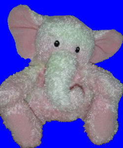 , FOUND – USED Pink Elephant GUND SPRINKLES