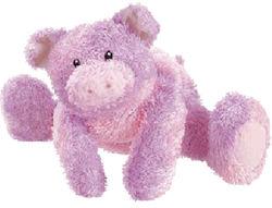 , FOUND – GUND Sprinkles PINK & LAVENDER PIG (Not a Blankie)